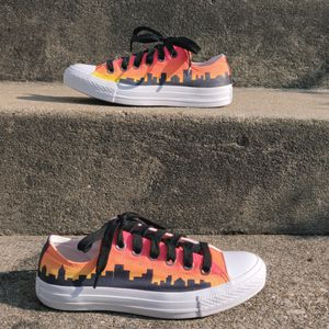 Shoes - Custom Painted Converse All Stars - Men's 5/Women's 7 for Sale in UPPR MARLBORO, MD