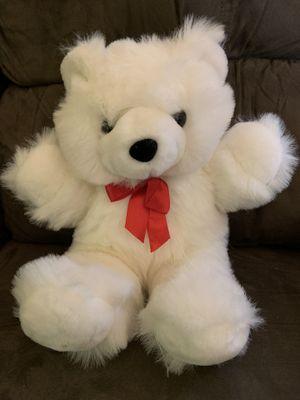 Teddy Bear with red bow for Sale in Virginia Beach, VA
