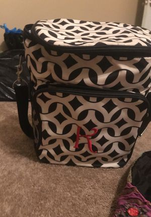 """Initials, INC. """"K"""" rolling cooler for Sale in Thomasville, NC"""