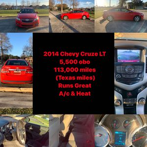 2014 Chevy Cruze for Sale in New Orleans, LA
