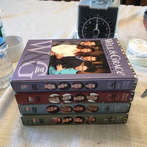 Will And Grace Seasons 1,2,3,5 Dvd for Sale in New Castle, DE