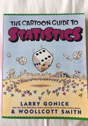 The Cartoon Guide to Statistics - Larry Gonick for Sale in Baltimore, MD
