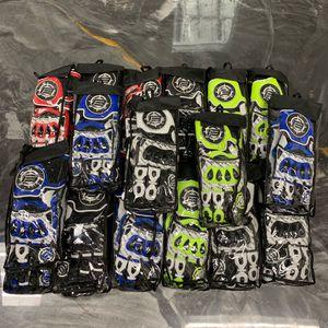 Ballistik Motorcyle racing gloves kangaroo leather for Sale in Boca Raton, FL