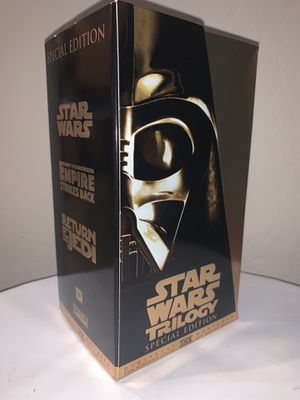 Star Wars Trilogy Special Edition VHS 1997 for Sale in Bakersfield, CA