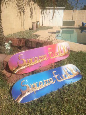 Supreme skateboards for Sale in Peoria, AZ