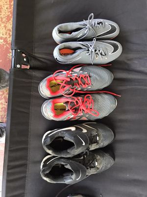 Soccer cleats(new) , running shoes and baseball cleats for Sale in Westminster, SC