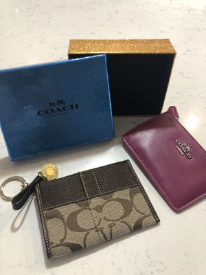 2 Coach coin purses for Sale in Yuma, AZ
