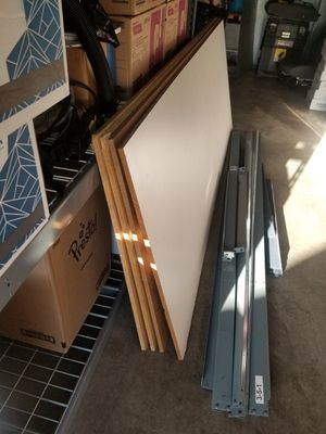Shelves, 4 levels, 3 ft. X 8 ft., Used for Sale in Fallbrook, CA