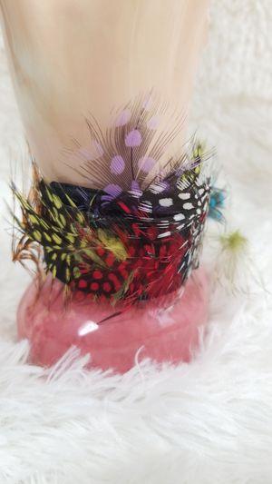 Multicolor feather slap Bracelet for Sale in McDonough, GA
