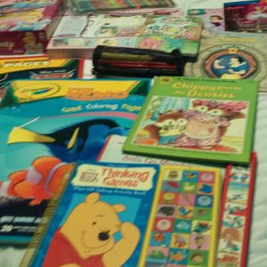 Kids, coloring books and toys and games and talking animals. for Sale in Denver, CO