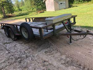 16 foot utility trailer for Sale in Splendora, TX