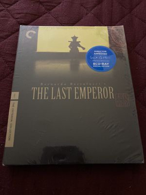The Last Emperor Criterion Blu-Ray for Sale in Elmwood Park, NJ