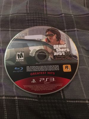 PS3 grand theft auto IV- Tested for Sale in Davenport, IA