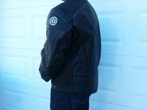 Firstgear 2XL Heavy Leather Padded Motorcycle Jacket for Sale in Raleigh, NC