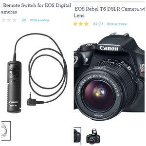 New Cannon Rebel DSLR Camera for Sale in Wayland, MI