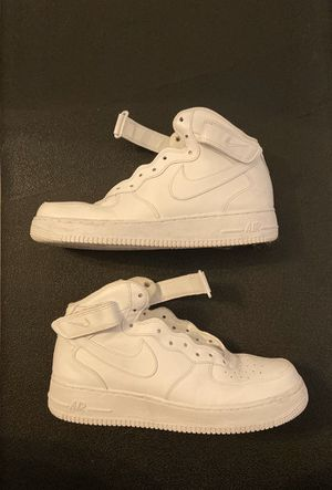 White Airforce 1 Mid for Sale in Chesapeake, VA