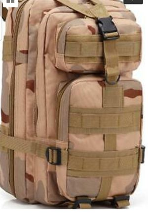 Camouflage Hiking Outdoor Backpack Adjustable Waterproof Breathable 30L BRAND NEW IN THE BOX Ask for 10% OFF for Sale in Bowie, MD