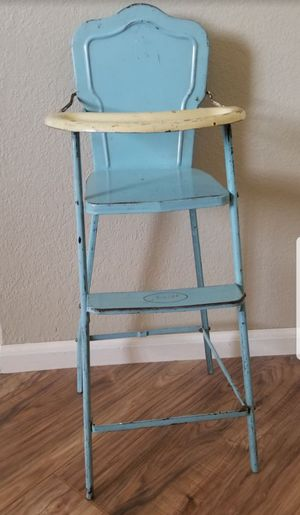 Antique baby doll high chair for Sale in Tempe, AZ