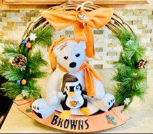 NFL Cleveland Browns Home Door Decorative Wreath for Sale in North Ridgeville, OH