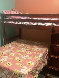 Twin Over Full Bunk Bed & Dresser for Sale in St. Peters,  MO