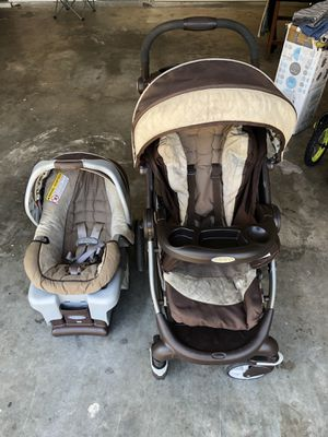 Baby stroller and car seat for Sale in Lawrenceville, GA