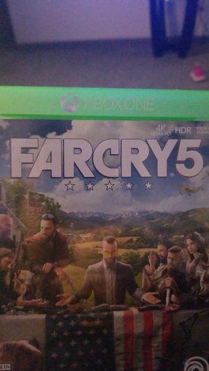 Far cry 5 4k xbox one x trade for Sale in Everett, WA
