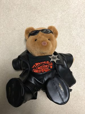 Harley Davidson Police/Sheriff Bear for Sale in Gainesville, VA