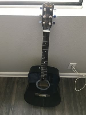Fender acoustic guitar for Sale in San Diego, CA