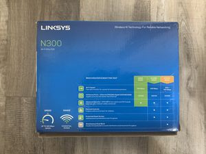 Linksys N300 Wireless Wi-Fi Router for Sale in Richardson, TX