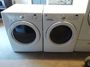 2016 kenmore front load set for Sale in Austin, TX