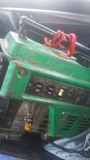 A Powermate 1500 green generator for Sale in Oklahoma City, OK