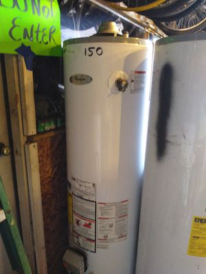 Used 40 gal whirlpool hot water heater for Sale in Wyandotte, MI