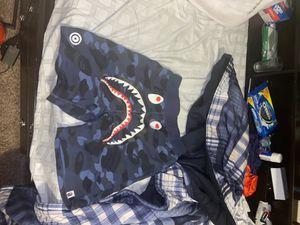 Blue Bape shorts for Sale in Bellevue, WA