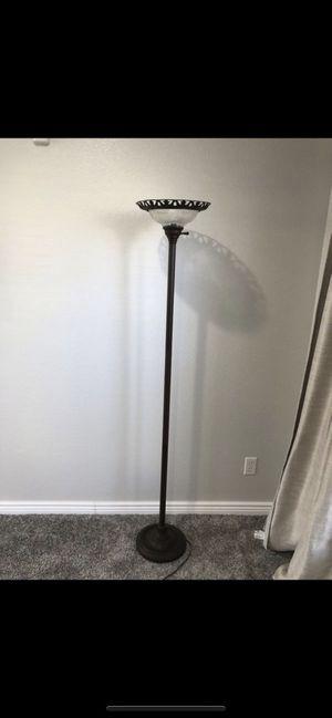 Bronze floor lamp for Sale in Denver, CO