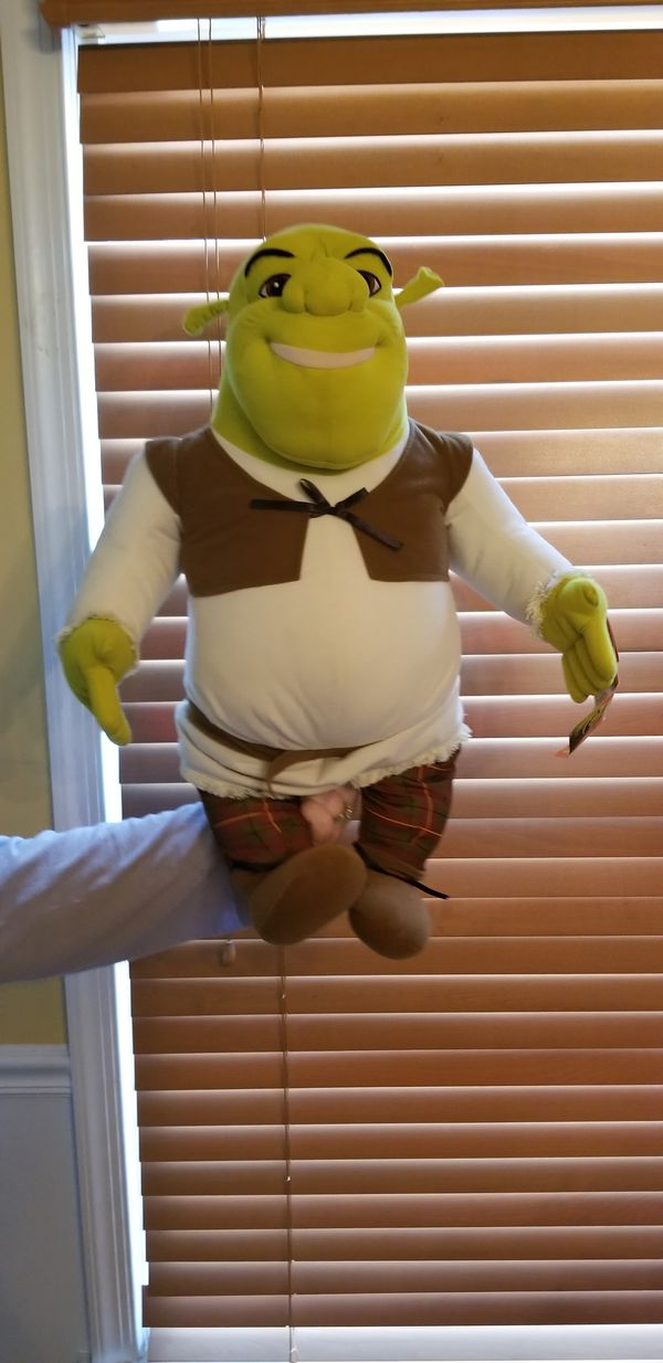 Large Shrek stuffed animal