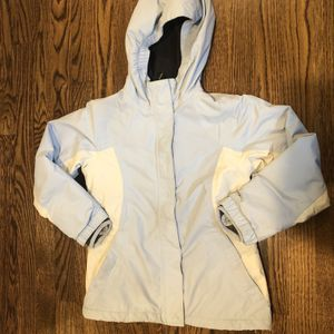 Lands End Girls Squall Winter Coat, Size S 7/8 Blue for Sale in Pittsburgh, PA