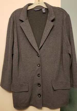 Hillard & Hanson Women's Blazer Jacket, 2x for Sale in Fresno, CA