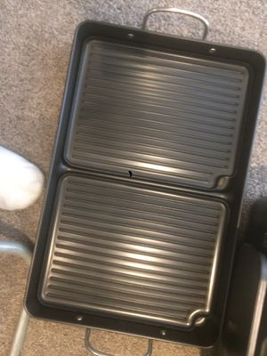 Cooking iron pan with grill plates. New. for Sale in Hawthorn Woods, IL