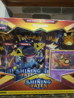 Pokemon Shining Fate Dedenne Box Set for Sale in Fort Worth,  TX