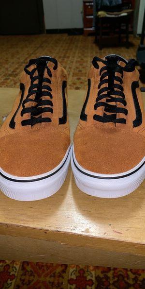 Tan colored vans for Sale in Gray, GA