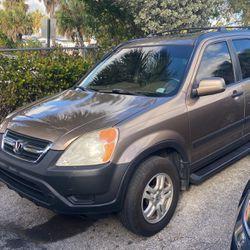 2004 Honda CRV 4WD for Sale in Plantation,  FL