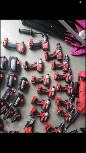 Milwaukee power tool assortment for Sale in Miami, FL