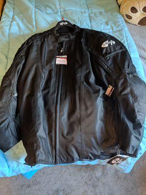 Joe Rocket 4 XL motorcycle jacket - brand new for Sale in Roy, WA