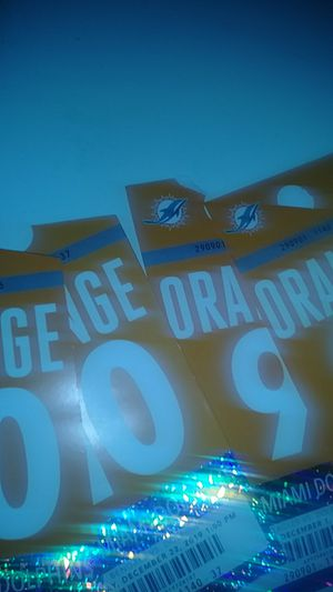 $50 each dolphins parking passes. for Sale in Miami, FL