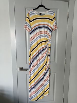 Maternity summer maxi dress NEW size:L for Sale in Broomfield, CO