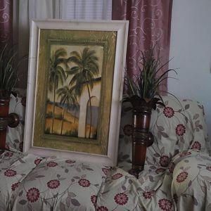 picture for wall and fake plants aswell for Sale in Chesapeake, VA