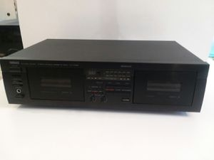 YAMAHA DOUBLE TAPE PLAYER for Sale in Fond du Lac, WI