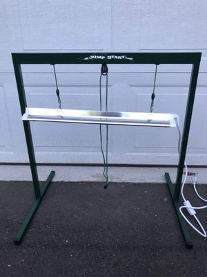Jump Start 2 ft T5 Grow Light System (Stand, Fixture & Tube) for Sale in Portland, OR