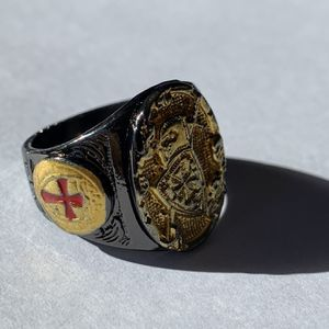 Sterling Silver Golden Knight Ring for Sale in Ronkonkoma, NY