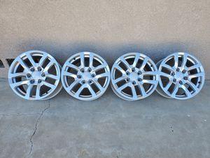 """18"""" Chevy Silverado wheels. for Sale in Riverside, CA"""